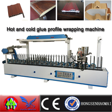 HSHM300BF-A hot glue MDF frame profile wrapping machine