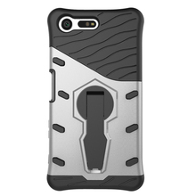 Armour PC+TPU Mobile Phone Cover Case For Sony Xperia x cpmpact