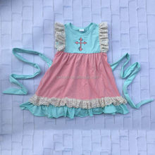 Latest Children Dress Designs Girls Party Dresses Floral Child Baby Dress Model