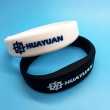 Laser Custom Logo Programmable NFC NTAG213 Silicone RFID Wristband for Club