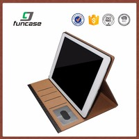"Hot sale custom logo waterproof leather 9.7"" tablet case for ipad 3"