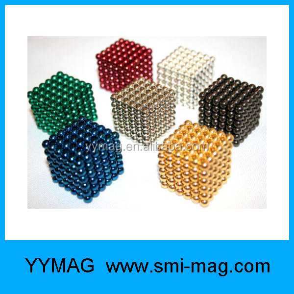 Whole buy 3mm 5mm color magnetic balls for sale