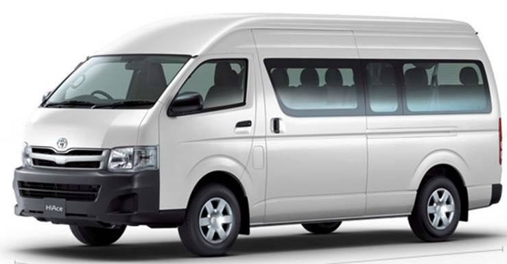 Executive Van - Hiace Commuter