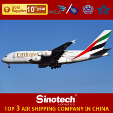 International Shipping rates from China to Asia and Africa air freight