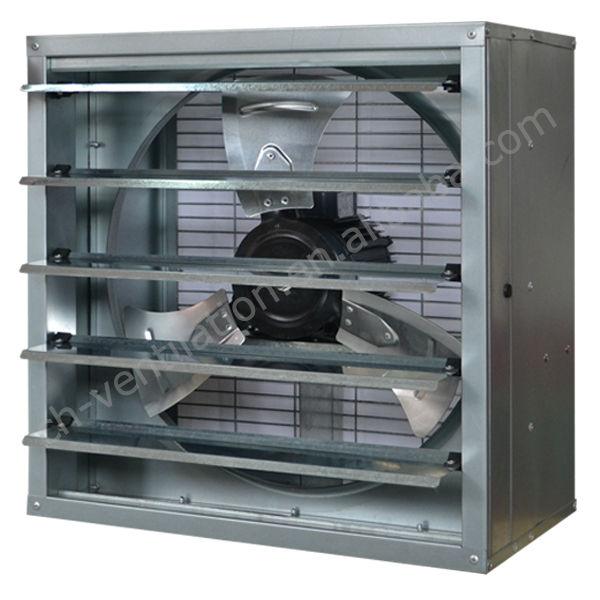 High efficiency paint booth 36 inch exhaust fan with for Paint booth fan motor