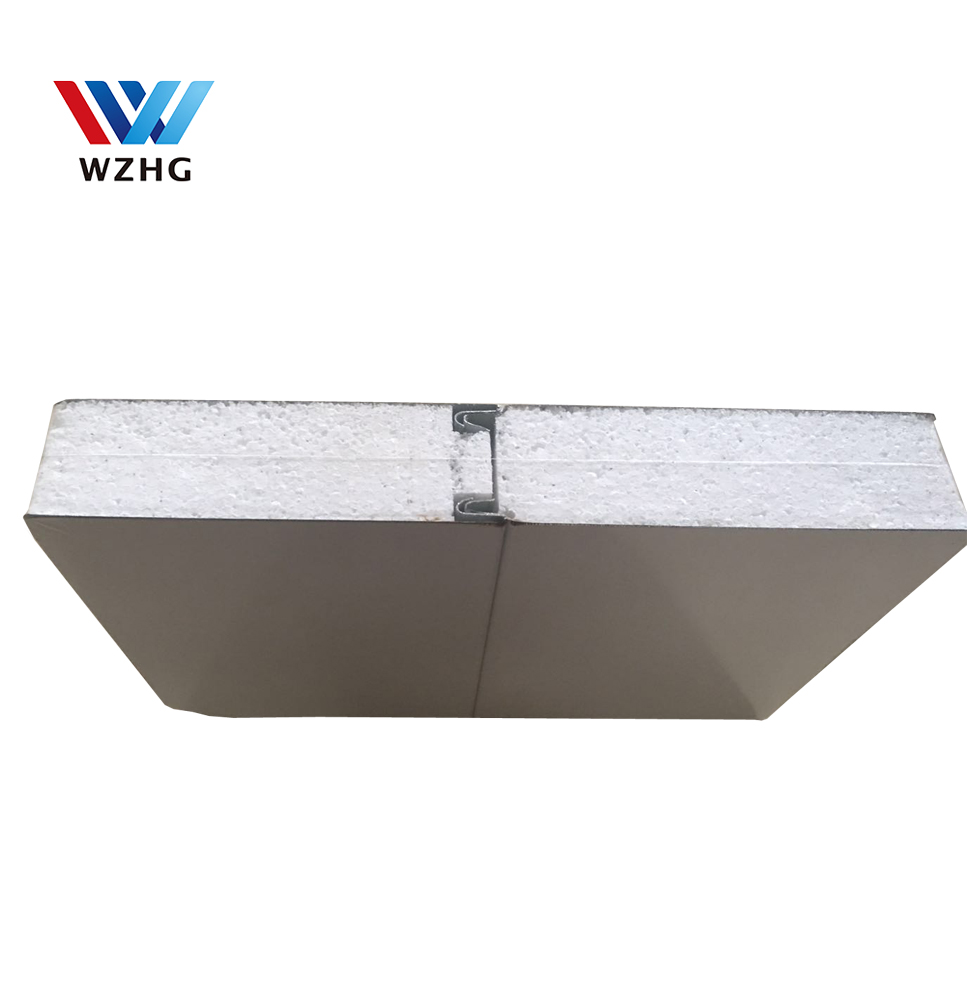 <strong>Z</strong> lock eps panel insul wall foam wall padding 50*1150*5900 mm <strong>12</strong> kg/m3, precio m2 panel sandwich