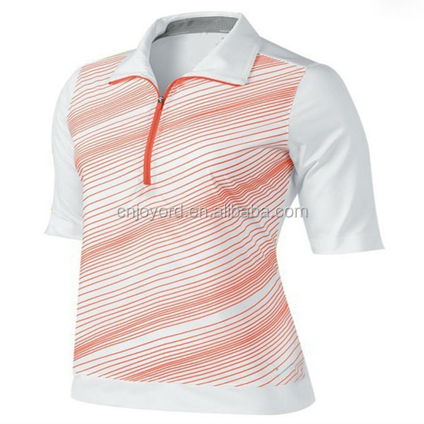 2016 new style women golf shirt