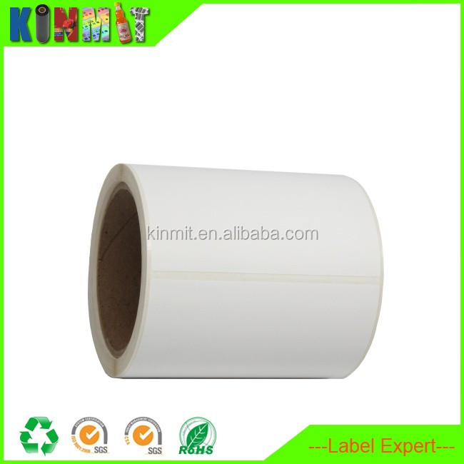Roll Selling Self Adhesive Blank Label For Printing