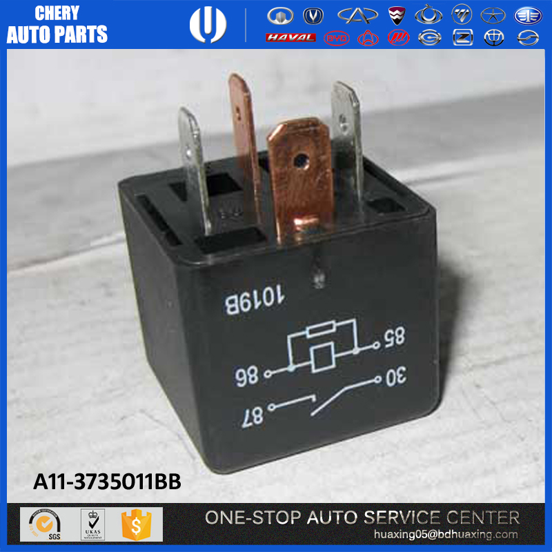 auto spare parts car A11-3735011BB Relay car accessories chery spare parts