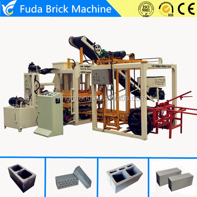 QT4-18 Hydroforming Automatic Interlocking Block Molding Machine Price List
