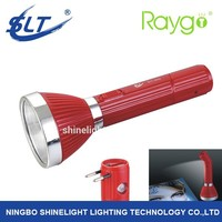 SLT-8890 led plastic rechargeable torch