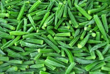 IQF frozen okra whole okra prices