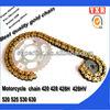 Motorcycle chain,motorcycle chain and sprocket ,45mn cheap motorcycle kits
