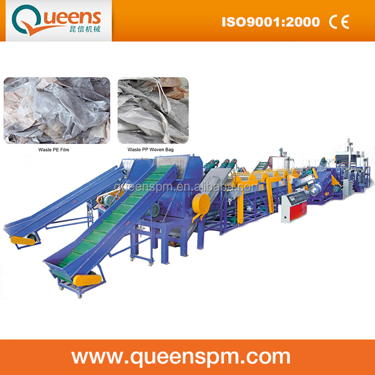 PP PE Washing Recycling Line with Good Quality