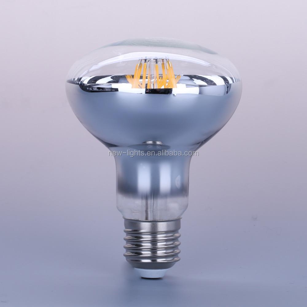 Wholesale Led Filament Bulb R80 Long Lifetime 30000hrs R80 E27 6w High Quality Ce Rohs Buy R80