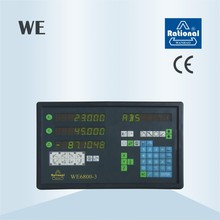 2 axis Digital Readout (DRO) and optical linear scale system