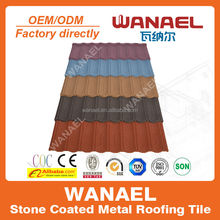 Stone Chip Coated Steel Roof Tiles Cost
