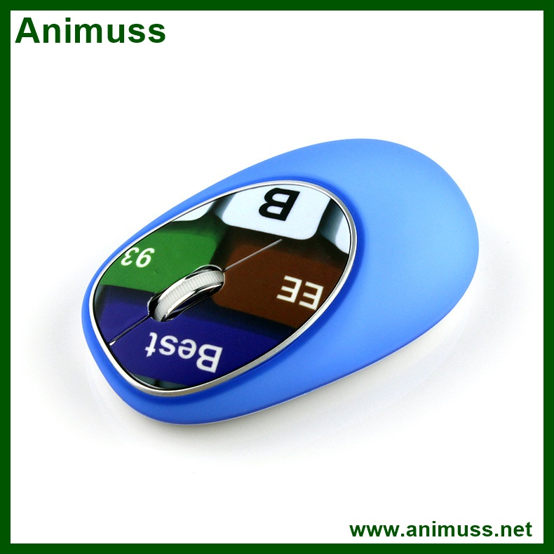Logo is free stress relief waterproof USB 1600dpi wireless silicone mouse mice for office working computer