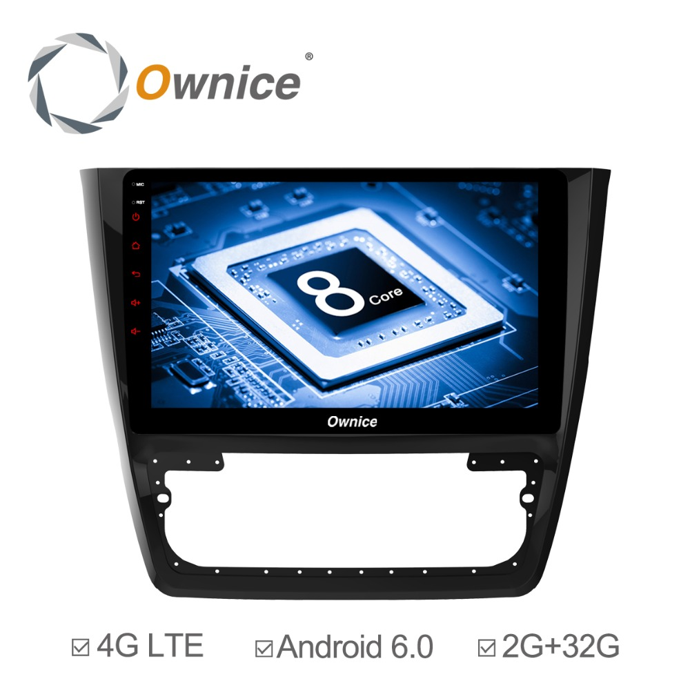Ownice C500+ 10.1inch Octa Core 32GB ROM Android 6.0 Car Stereo for Skoda Yeti 2014 - 2017 Support TPMS