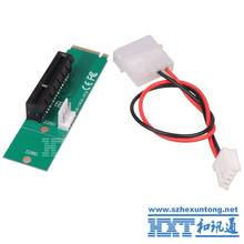 Wholesale PCI Express PCI-E 4X Female to NGFF M.2 M Key Male Adapter Converter Card, w/ Power Cable