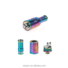 pretty rainbow rda atomizer from professional manufacturer