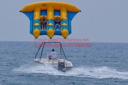 Customzied inflatable fly fish toy/Inflatable Towable Tube/flying banana