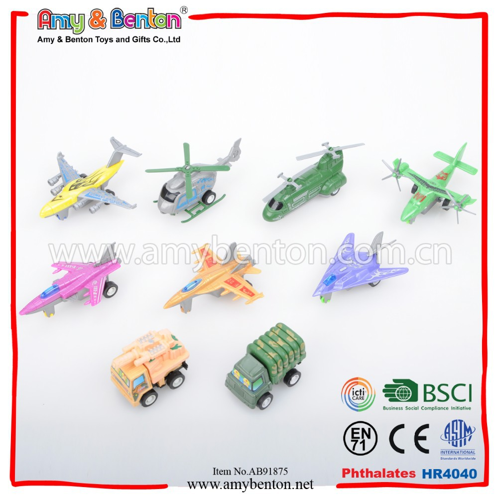 Plastic Plane Military Vehicles Toy Small Toy For Kid
