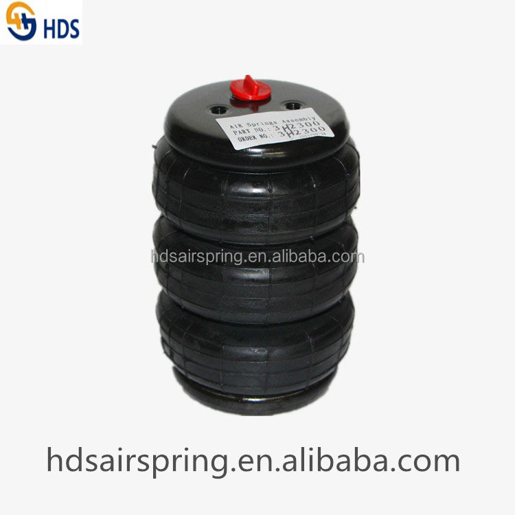 Triple Convoluted Air Spring 3H2300 for truck parts air suspension