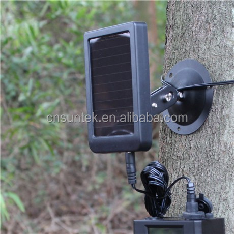 high efficency 2100 mAH Solar Panel of Suntek Hunting Trail Camera