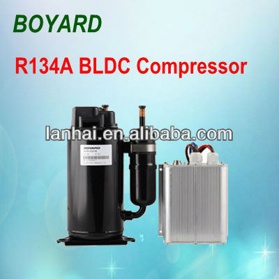 Vehicle Freezers Truck Sleeper Cab of zhejiang boyard r134a stepless bldc bus air conditioner compressor