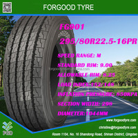 industrial tyre hot sale Chinese good quality tubeless radial truck tires with low price for sale 295/80R22.5