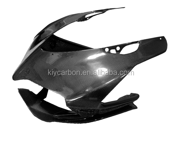 Carbon fiber motorcycle parts front nose fairing for Ducati Panigale 899 1199