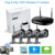 720P 4ch Best Indoor Wifi IP Wireless CCTV System Kit Security Camera System Outdoor