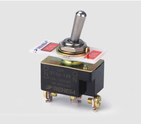 RT-S6-14B RT1121DF SPDT 250V momentary on on toggle switch