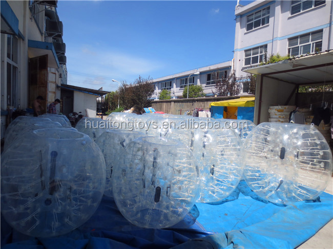 1.3m/1.5m/1.8m diameter kids&adults inflatable bumper ball/ 0.8-1mm PVC/TPU bubble soccer football/ human zorb ball 2016