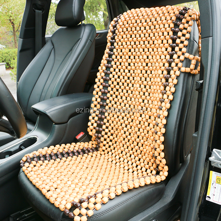 car seat covers for summer, home breathable cooling car seat,wooden beads,handmade beaded,Gentlemanly Simple
