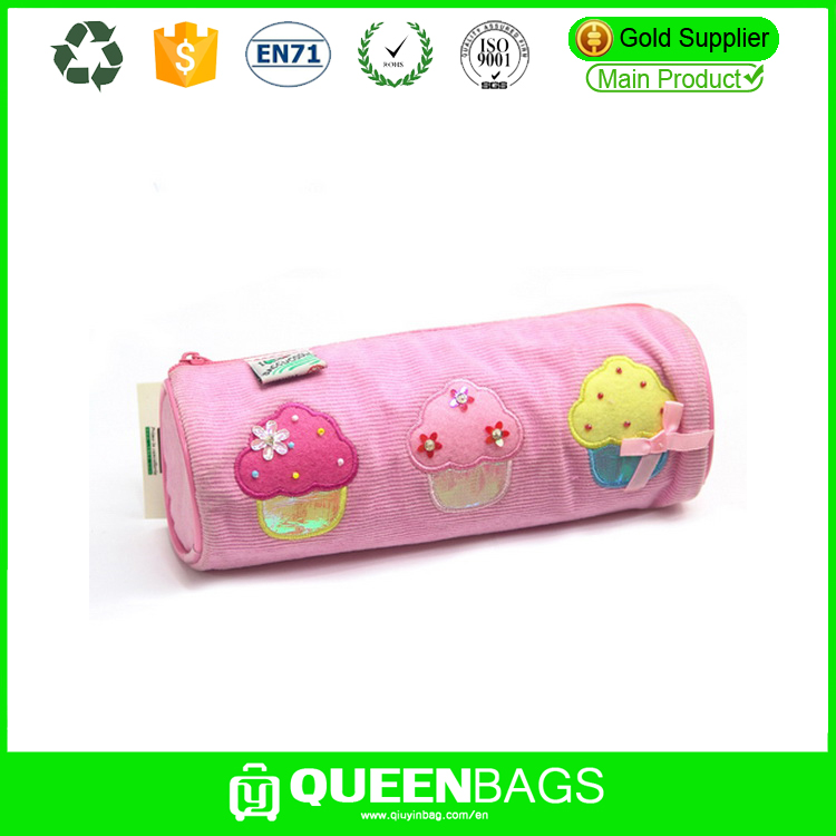 3 ring binder pencil pouch / school stationery wholesale pencil bag / Promotional Polyester Binder Pencil pouch for office