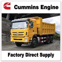 Sitom Cummins Engine tipper mining dump truck for sale better than howo sinotruck 336
