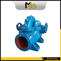 Base plate split case pump water supply system