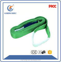 Heavy duty ployster webbing ployster material lifting belt