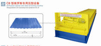 Hot Sale! Haide C8 Russian special color steel roll forming machine,roof tile roll forming ma,Russian style roll forming machine