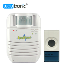 Wireless remote control electric mp3 audio door bell