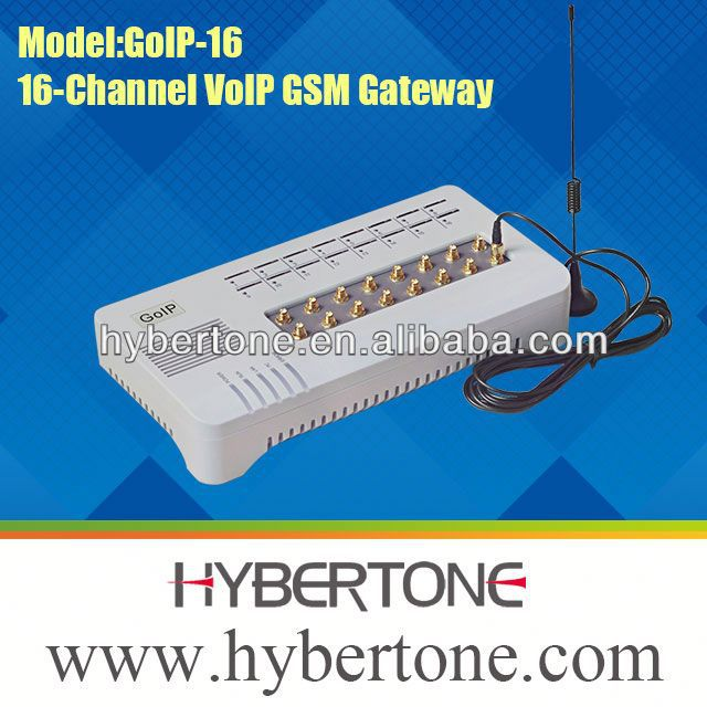 gsm gateway with 16 sim card port GOIP16