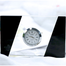 Wedding Favor Souvenir Crystal Table Desk Clock