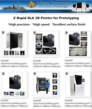 Cheap safety education high precision ZRapid SLA 200 electronics 3d printer machine