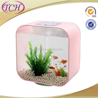 New style Low Cost Wall Plastic Acrylic Aquarium