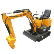 1000kg mini digger micro excavator made in China
