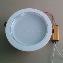 Factory supply High quality 12v 12w dimmable led downlight housing for hotel comercial using