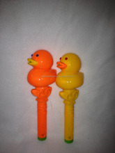 small yellow duck with light & little duck lovely kid toys for sale
