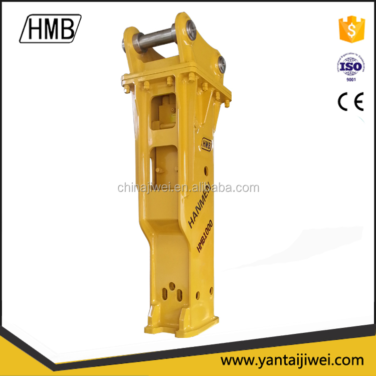 Excavator attached hydraulic hammer Stone Breaker